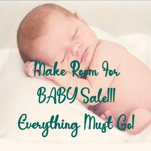 Make Room For Baby-Whole Closet On Sale!